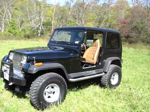 80's jeep yj parts