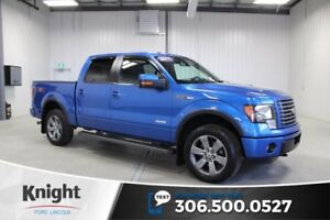 2011 Ford F-150 FX4 Moon Roof, Max Trailer Tow