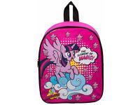 My Little Pony Backpack Rucksack Travel Junior Kids Work Nursery School Bag