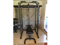 Bodymax CF475 Power Rack with 200kg of Weights and Accessories