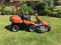Husqvarna r 316T ride on lawnmower only 71 hours used 48inch cutter