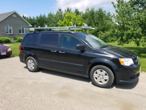 2013 Dodge Caravan (converted to a service van)