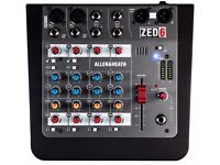 Allen & Heath Zed6 portable mixer deck