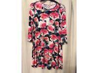 Ladies size 14 dress / tunic