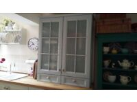 Glass Fronted Kitchen Cabinet