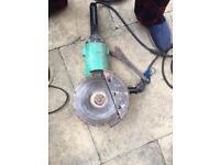 Hitachi 9 inch disk grinder angle