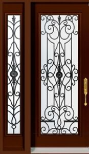 Single Front Entry Door SideLight 3