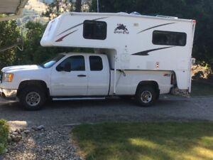 2009 GMC Truck, 2008 Eagle Cap Camper
