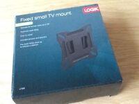 Logik fixed TV mount, brand new, box unopened