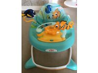 Baby walker finding nemo theme barely used like new
