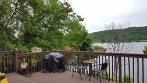 Woodstock NB ~ Waterfront Duplex ~ Income Property