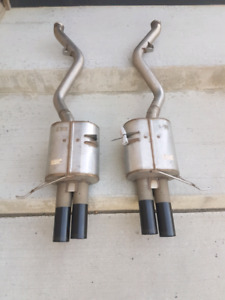 Must Sell!! DINAN High Performance Dual Exhaust