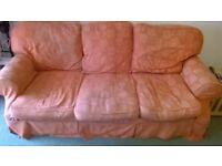 Terracotta 3 Seat Sofa