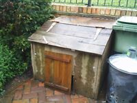 USED C0NCRETE COAL BUNKER VERY STURDY BUT VERY HEAVY
