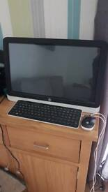Hp all in one touch screen computer