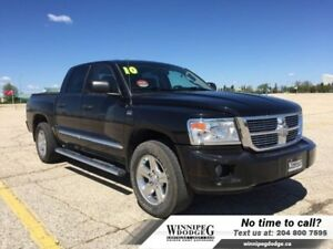 2010 Dodge Dakota SLT Crew 4x4 w/Leather *LOCAL*  *Accident-Free
