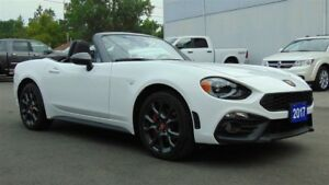 2017 Fiat 124 Spider ABARTH - 6 SPEED - LOADED - 1,480 KMS