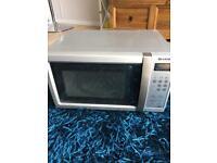 Sharp microwave £10