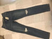 Topshop Moto 'Jamie' Jeans (8-10) brand new