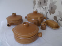 Denby Stoneware 'Langley' - Mid-Brown