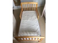 John Lewis junior bed and sprung mattress