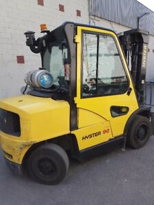Hyster H90XMS - 9000 lbs with cab