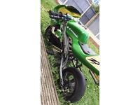 49 cc mini moto W/ No2