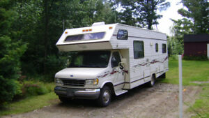 Ford glendale sterling motorhome 28 foot  class c rv 1992