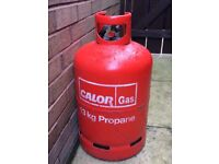 CalorGas 13kg propane gas bottle - 100% full