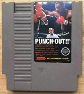 Mike Tyson's Punch Out NES Nintendo Classic Arcade