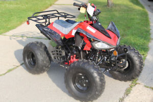 125G Cheetah Mid-Size Youth ATV. NEW.  REMOTE  FREE DEL