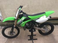 KAWASAKI KX 85 excellent condition 20 hours use!