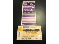Gold Creamfields Ticket 3 Days Camping