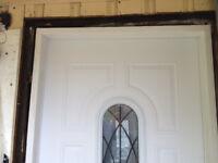 in ST Albert Exterior MAN door new door installation. Exterior d