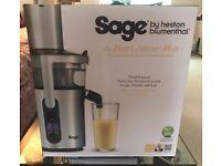 Heston Blumenthal Sage Nutri Juicer BRAND NEW