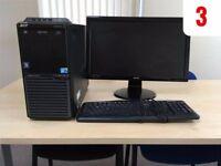 Acer Veriton Desktop PC, Monitor & Keyboard