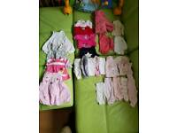 Tiny baby early prem clothes