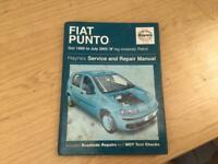 Fiat punto Haynes manual