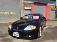 Low mileage Hyundai Tuscany Coupe 2.7 V6 supercharged mot until March 18