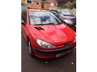 2004 PEUGEOT 206 1.1, DRIVING WELL NEEDS NOTHING - P/X, TRADE IN, SWAPS WELCOME