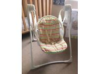 Baby swing chair - Graco with box