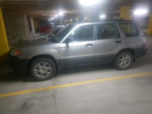 2007 Subaru Forester - Saftied Until Sep 2