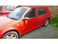 Vw golf breaking for parts
