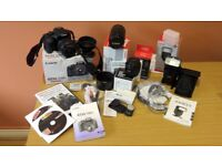 Canon EOS 550D Complete Package - excellent condition