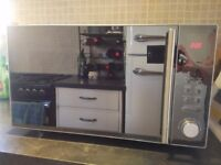 FOR SALE - KENWOOD Microwave K25MMS14 Silver