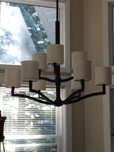 Elegant/Versatile Oil Rub Bronze Chandelier