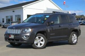 2016 Jeep Compass HIGH ALTITUDE! 4X4! HEATED LEATHER! SUNROOF!
