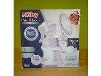 Nuby Natural Touch manual breast pump