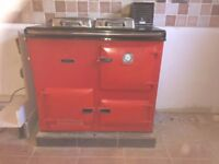 Rayburn Nouvelle - GAS - Used Daily with full service history - Heating and hot water - Good cond