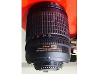 Nikon Lens AF-S Nikkor 18-135 mm f 1:3.5-5.6G ED (Manual Focus )